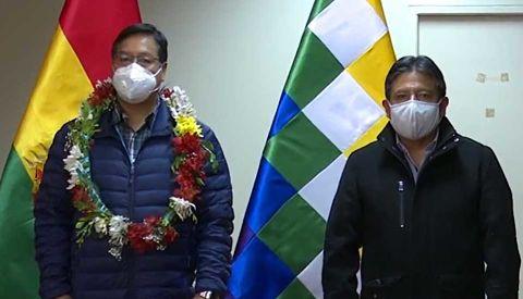 Arce-regresa-al-pais-luego-de-control-medico-que-se-realizo-en-Brasil