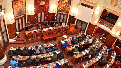 Confirman-dos-casos-positivos-de-COVID-19-en-la-Asamblea-Legislativa-Plurinacional-