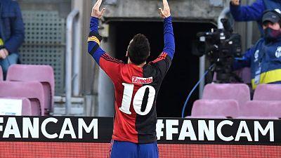 Messi-fue-multado-con-600-euros-por-el-homenaje-a-Maradona