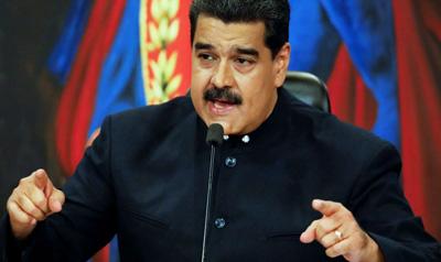 Maduro-responde-a-Trump-que-no-teme-defender-Venezuela