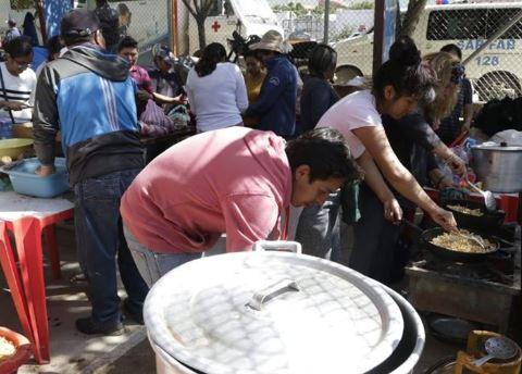 Oruro-se-moviliza-para-recaudar--ayuda-humanitaria--para-Tiquipaya