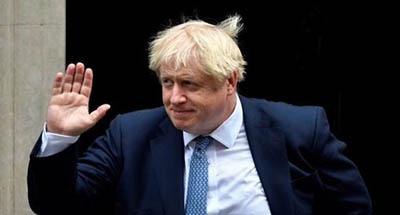 El-primer-ministro-de-Reino-Unido,-Boris-Johnson,-recibe-el-alta-medica