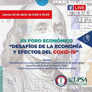 UPSA-realizara-Foro-Economico-virtual--sobre-Economia-y-efectos-del-covid-19