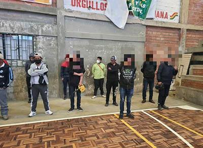La-Policia-reporta-94-detenidos-por-incumplir-la-cuarentena-en-El-Alto