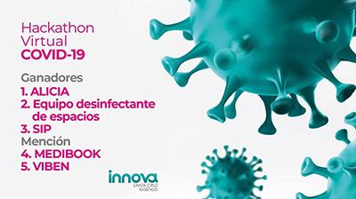 Equipo-UPSA-gano-Hackathon-Virtual-Covid-19