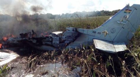 Avioneta-de-la-FAB-se-estrella-en-Beni;-fallecieron-los-seis-ocupantes