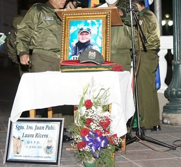 Policia-lamenta-su-primer-fallecido-por-covid-19-en-la-ciudad-de-La-Paz