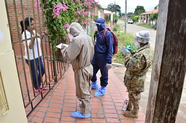 Brigadas-medicas-realizan-rastrillaje-en-San-Jose-de-Chiquitos