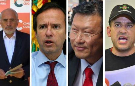 Mesa,-Tuto-y-Chi-respaldan-la-postergacion-de-las-elecciones;-Camacho-cuestiona-la-nueva-fecha