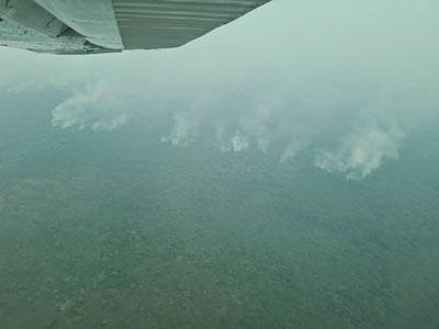 Ministro-de-Defensa-realiza-sobrevuelo-a-las-zonas-afectadas-por-incendios