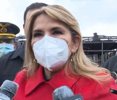 Incendios:-Presidenta-Ánez-analiza-la-gestion-de-ayuda-internacional-y-anuncia-que-visitara-la-Chiquitania