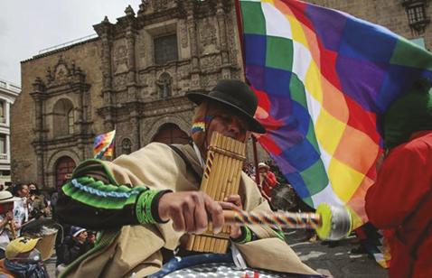 La-Paz-con-movilizaciones-y-en-El-Alto-se-dio-paso-libre-a-los-gremiales-y-transportistas