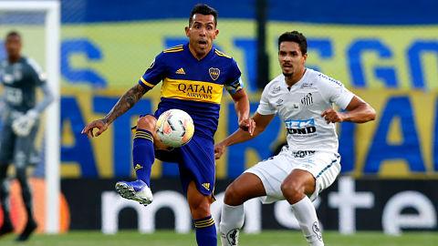 Boca-empata-con-Santos-en-la-busqueda-de-la-final-de-la-Libertadores