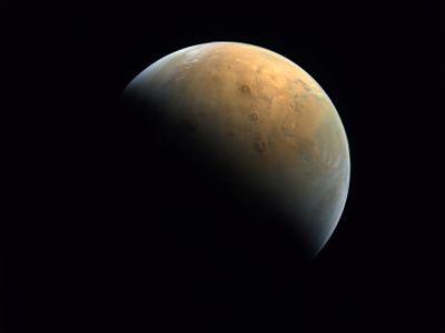 La-sonda-emirati--Esperanza--envio-su-primera-imagen-de-Marte