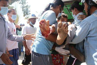 Represion-en-Myanmar:-al-menos-18-manifestantes-murieron-a-manos-de-la-policia-y-el-ejercito