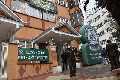 Inauguran-Centro-de-Internacion-COVID-en-La-Paz-para-pacientes-leves-de-la-Policia