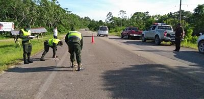 Un-policia-muere-atropellado-en-Villa-Tunari-y-conductor-escapa