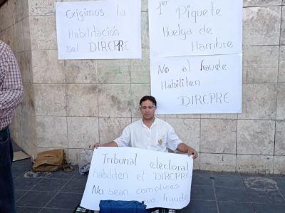 Candidato-a-concejal-cruceno-instala-huelga-de-hambre-exigiendo-habilitacion-del-Direpre