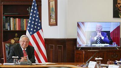 Lopez-Obrador-y-Biden-hablaron-sin-discrepancias-sobre-comercio,-migracion-y-coronavirus