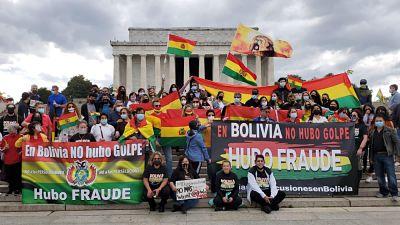 Bolivianos-se-movilizan-en-tres-paises-contra-las-detenciones-y-para-ratificar-el-fraude