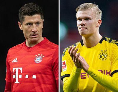 Lewandowski-Haaland,-duelo-de-goleadores-en-el-clasico-Bayern-Dortmund
