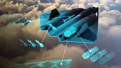 La-Fuerza-Aerea-de-EEUU-presenta-una-imagen-de-su-caza-de-sexta-generacion