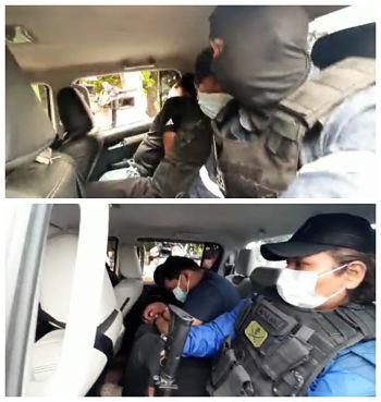 Desarticulan-banda-criminal-de-bolivianos-y-peruanos-hallados-en-posesion-de-armas-y-uniformes-de-la-FELCN