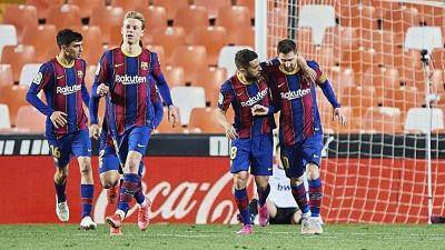 Tras-una-fiesta-en-la-casa-de-Messi,-pueden-sancionar-a-jugadores-del-Barcelona