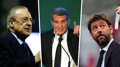 Barça,-Real-y-Juve-no-renuncian-a-la-Superliga-y-denuncian--amenazas--de-UEFA