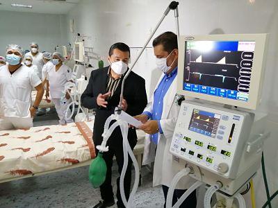 Entregan-19-camas-con-oxigenacion-directa-a-hospitales-de-2do-nivel-